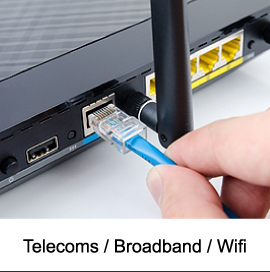Savings on Business Telecoms, Broadband and Wifi Services